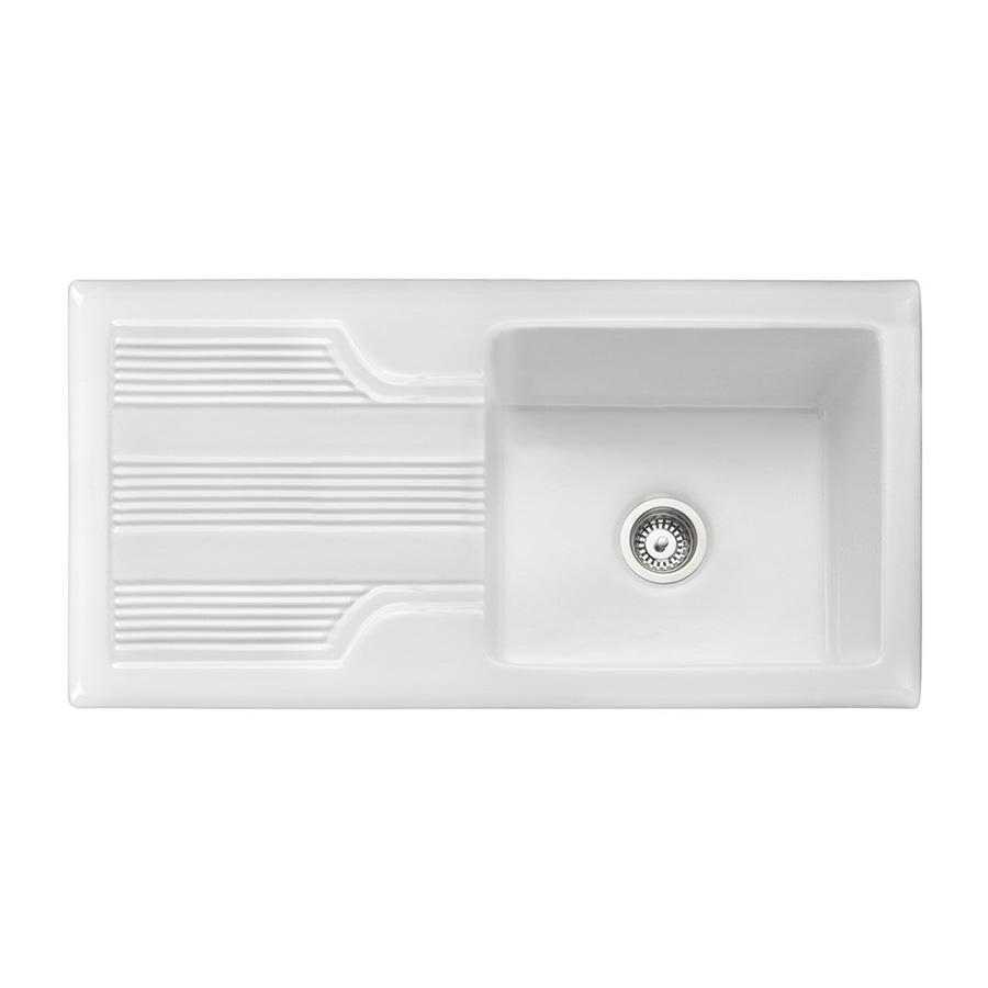 Rangemaster Portland   Ceramic Sink Sinks Taps Com