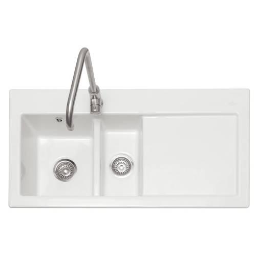 AVARA 150 1.5 Bowl Ceramic Kitchen Sink