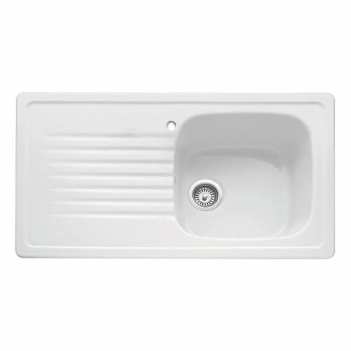 ASHTON 100 Ceramic Inset Kitchen Sink