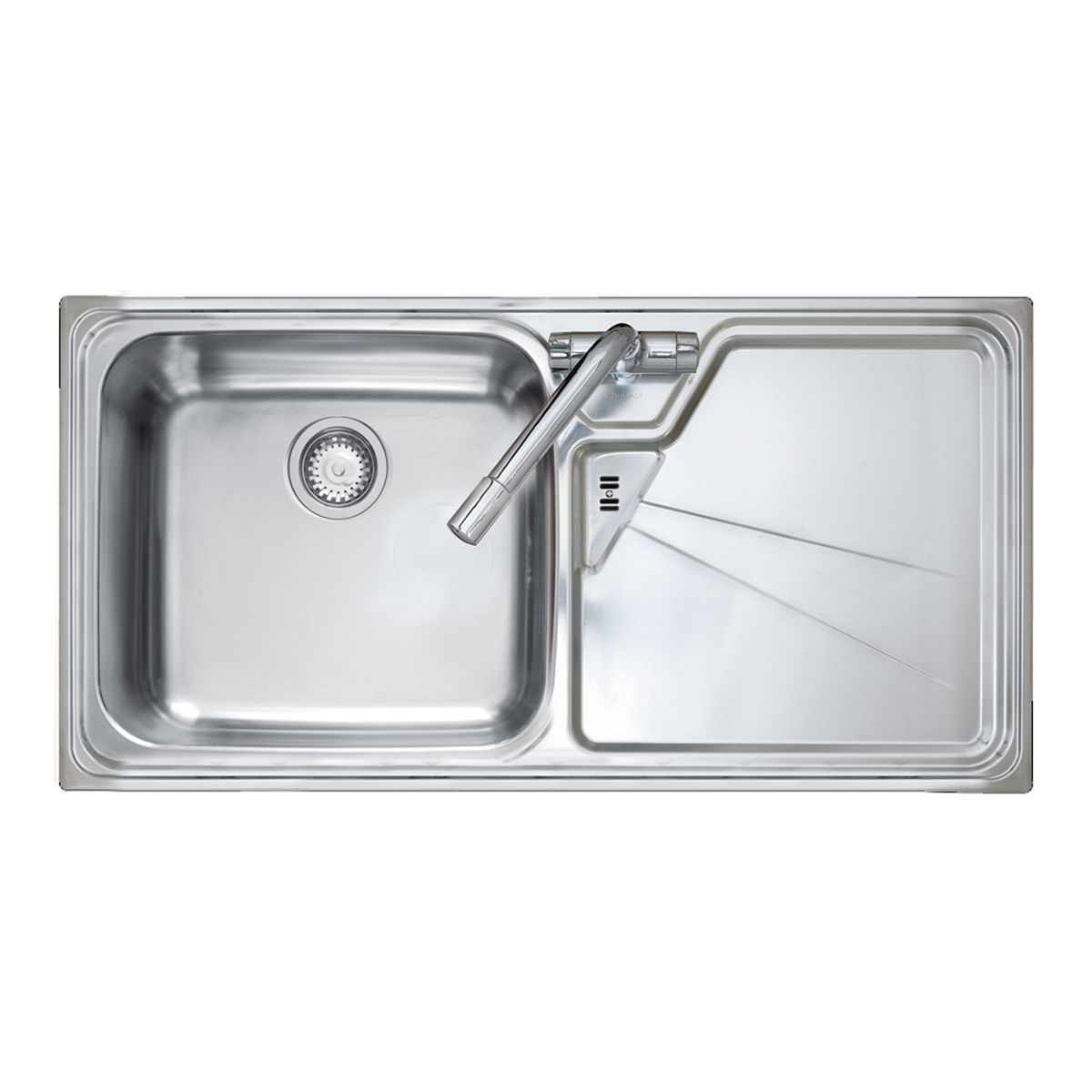 Lausanne 1 0 stainless steel kitchen sink with free - Stainless steel kitchen sink accessories ...