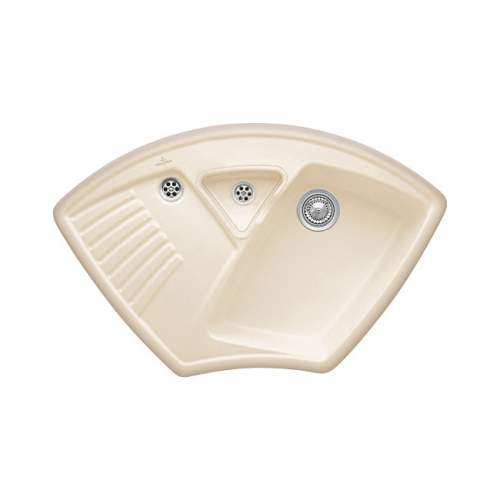 ARENA CORNER Ceramic Kitchen Sink - Classic Line