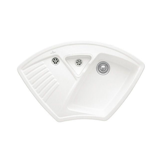 Villeroy Amp Boch Arena Corner Classic Line Ceramic Sink