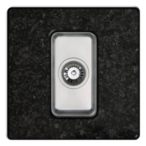 ORBIT 22 Half Bowl Undermount Kitchen Sink