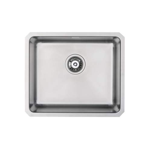 ORBIT 24 Large Bowl Undermount Kitchen Sink