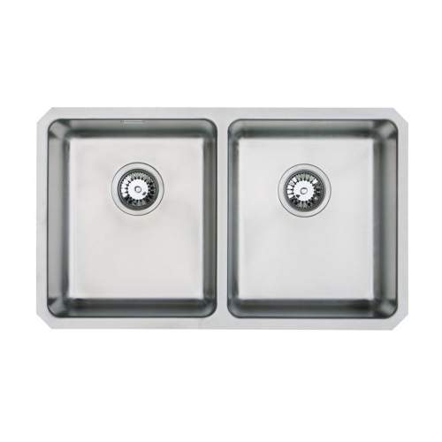 ORBIT 02 Double Bowl Undermount Kitchen Sink