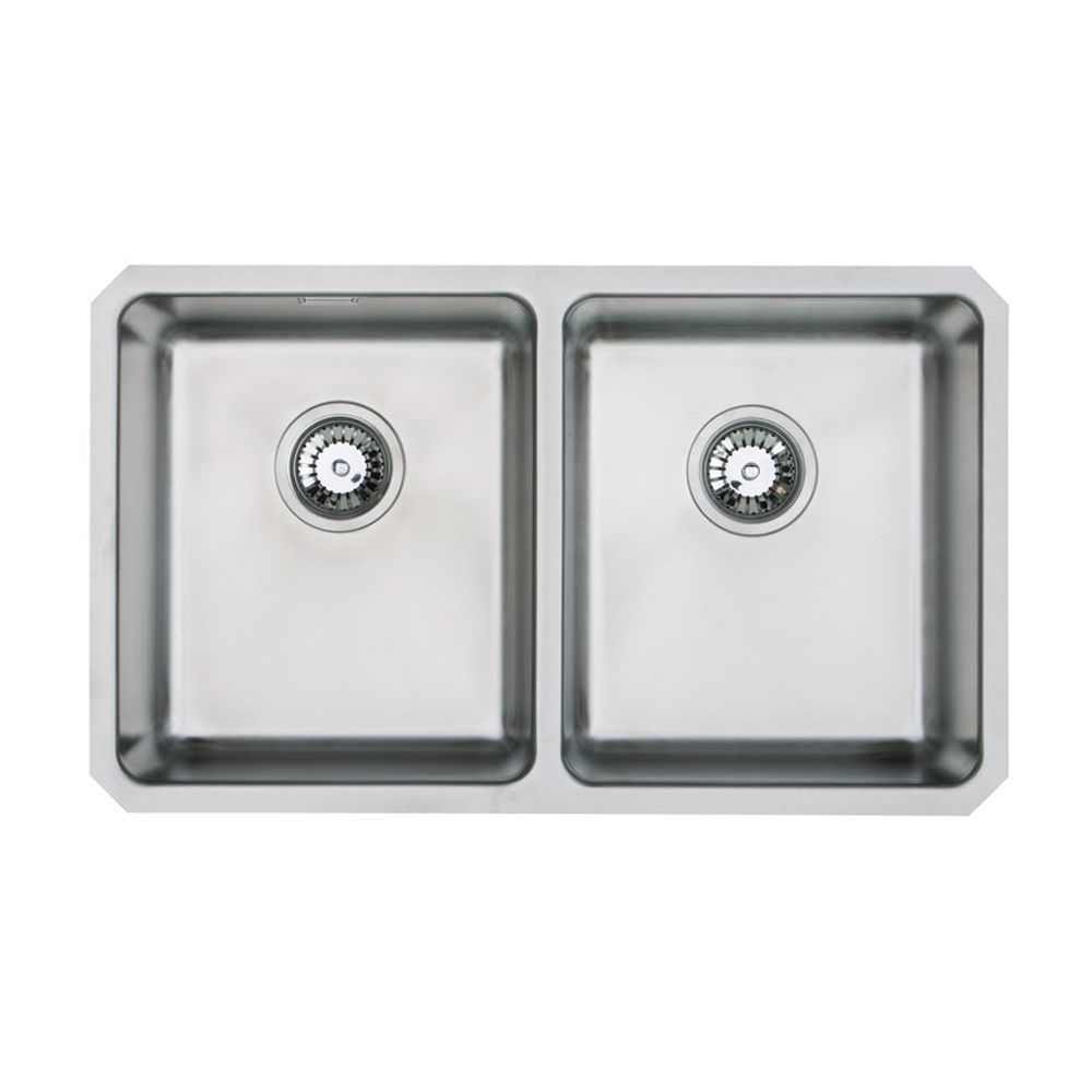 orbit 02 double bowl undermount kitchen sink sinks taps com rh sinks taps com undermount double kitchen sink with drainboard undermount double kitchen sink with drainboard