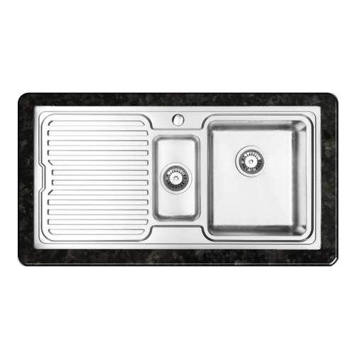 ORBIT 1 Inset 1.5 Bowl Kitchen Sink