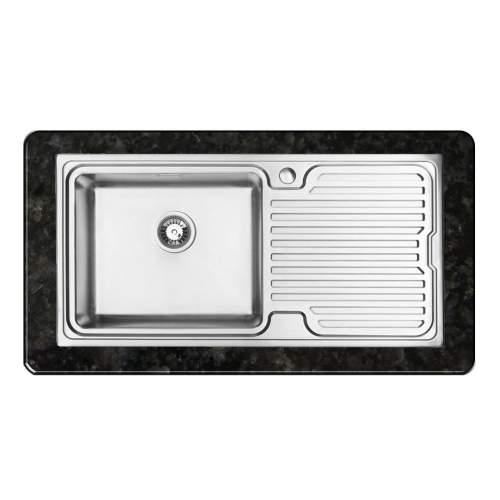 ORBIT 2 Inset 1.0 Bowl Kitchen Sink