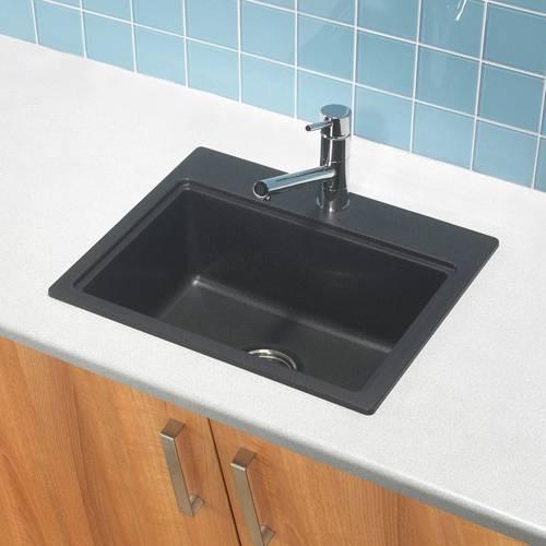 MONZA 1.0 Bowl Granite Kitchen Sink