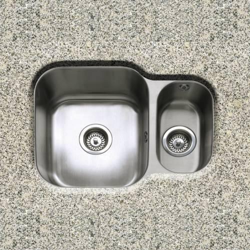 FORM 150 1.5 Bowl Reversible Undermount Kitchen Sink