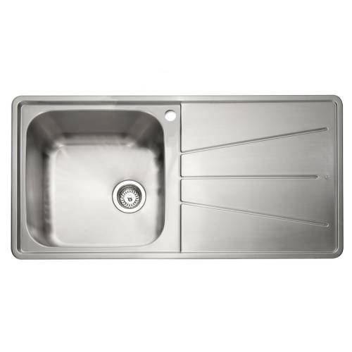 BLAZE 100 Inset Stainless Steel Kitchen Sink