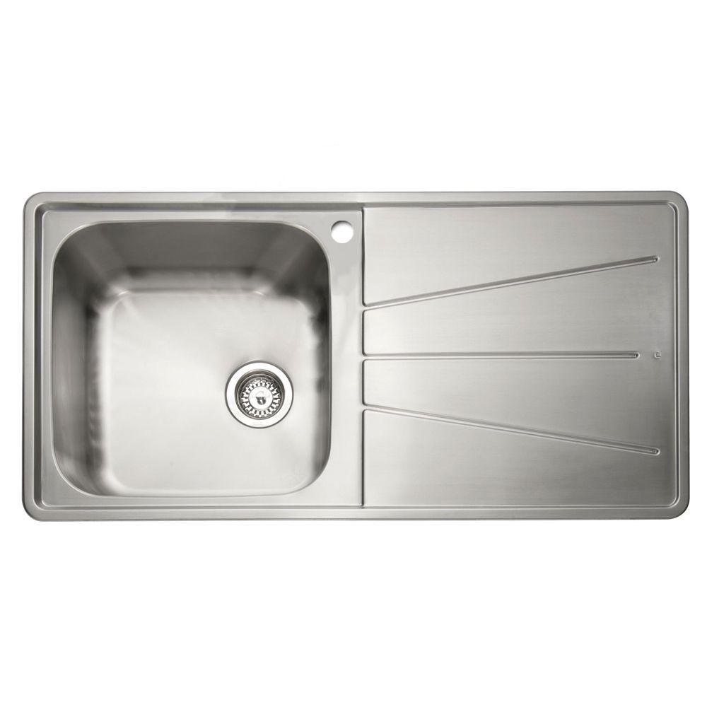Caple BLAZE 100 1.0 Bowl Inset Kitchen Sink - Sinks-Taps.com