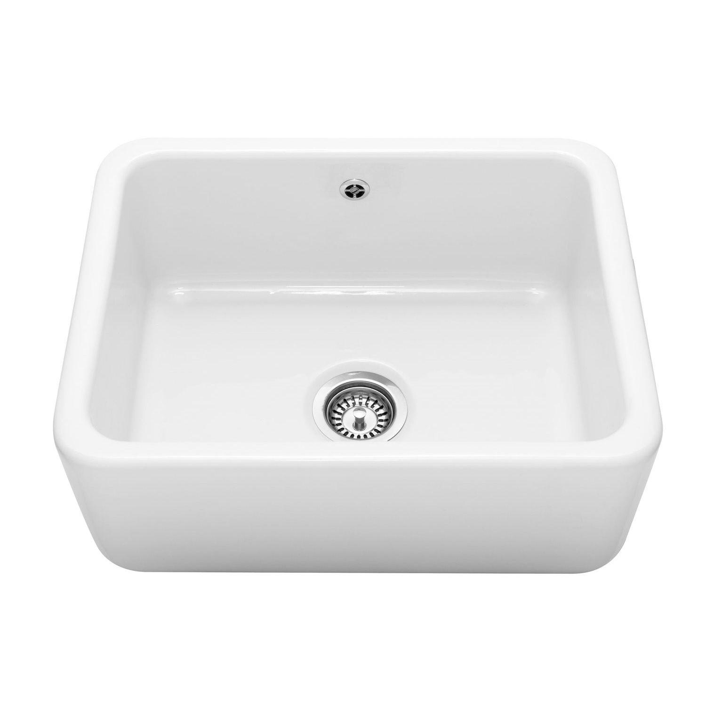 Caple butler 600 ceramic belfast kitchen sink sinks - Butler kitchen sinks ...