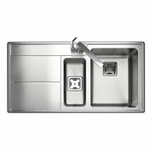 ARLINGTON 1.5 Bowl Stainless Steel Kitchen Sink