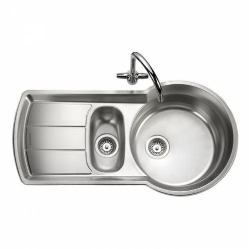 KEYHOLE 1.5 Bowl Kitchen Sink