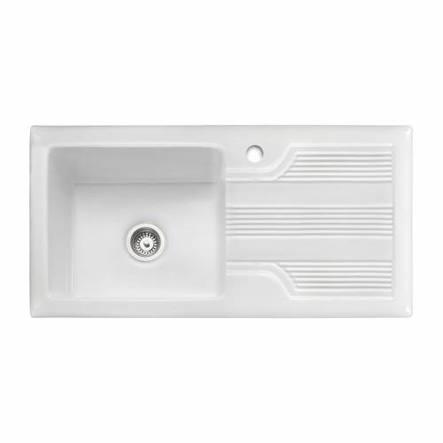 PORTLAND 1.0 Bowl Ceramic Kitchen Sink