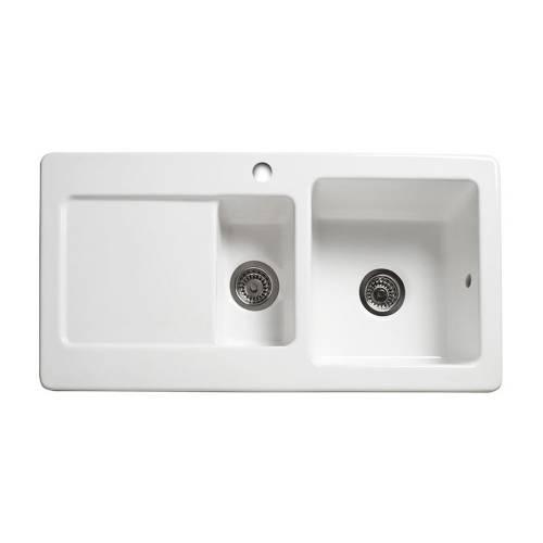 RL501CW 1.5 Bowl Ceramic Kitchen Sink