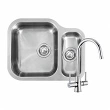 ALASKA 1.5 Bowl Kitchen Sink and FREE Thames Tap