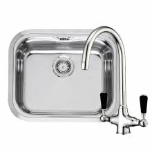 CHICAGO Single Bowl Kitchen Sink and FREE Tap