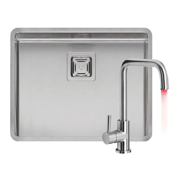 Reginox Texas 50x40 With LED Kitchen Tap