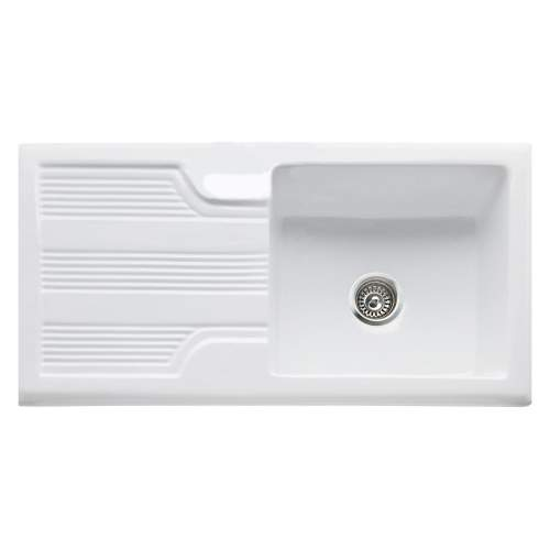 VECCHIO-G94 1.0 Bowl Ceramic Kitchen Sink