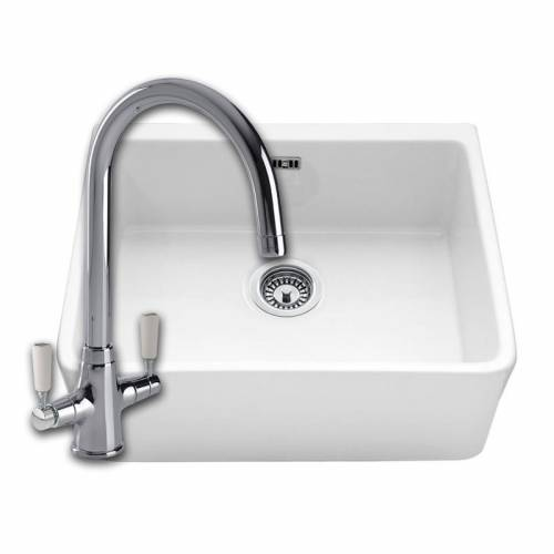 VECCHIO-G2 Belfast Kitchen Sink with FREE NENBRO TAP