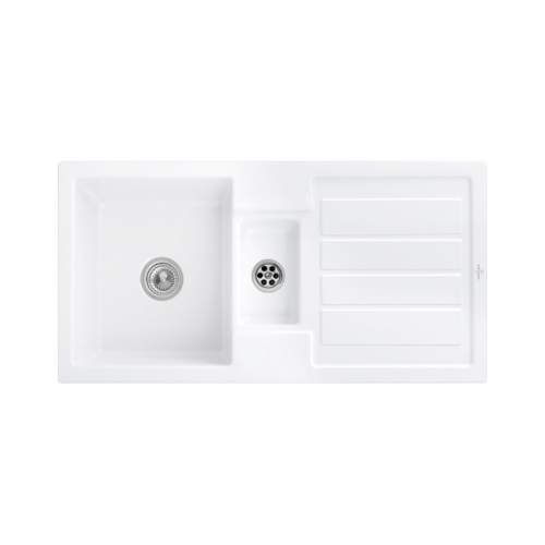 FLAVIA 60 Inset Ceramic Kitchen Sink