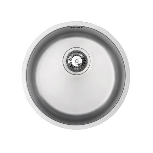RUBUS 101B-U Circular Undermounted Kitchen Sink