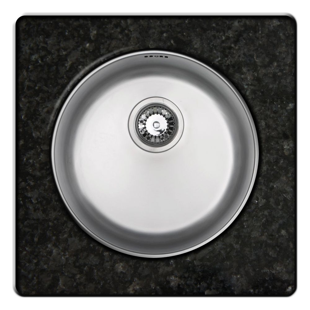 Rubus 101b U Circular Undermount Kitchen Sink Sinks Taps Com