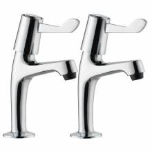 Pilastro Single Lever Pillar Taps