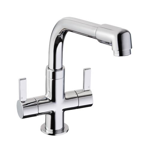 Gemello Dual Handle Monobloc Kitchen Tap