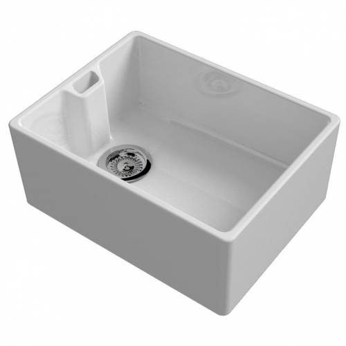 Contemporary Belfast Kitchen Sink with Weir Overflow