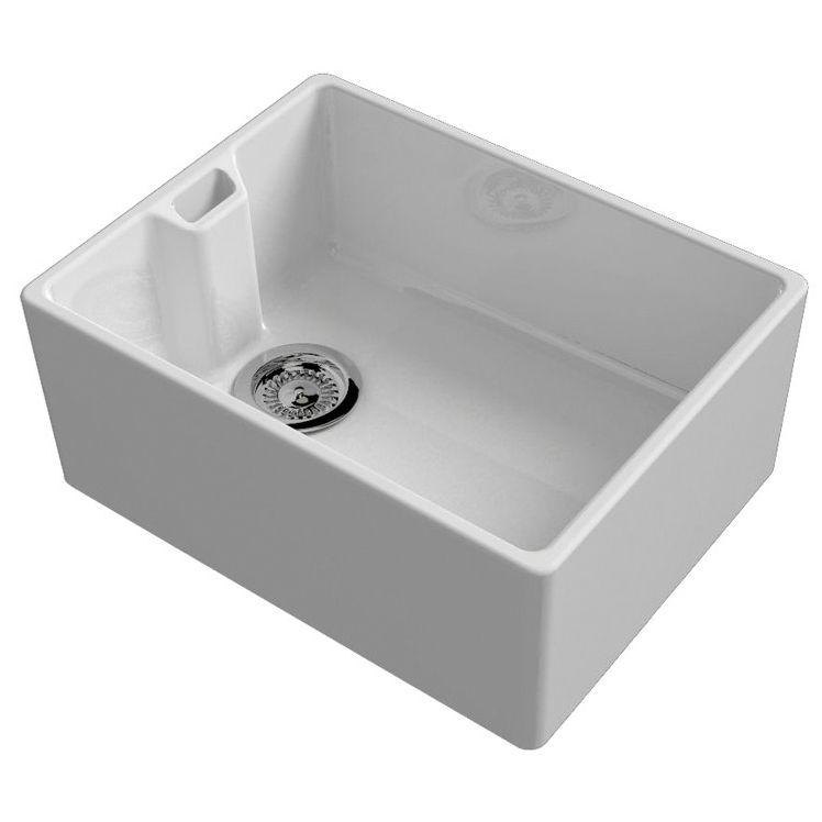 Reginox contemporary belfast sink sinks taps contemporary belfast kitchen sink with weir overflow workwithnaturefo