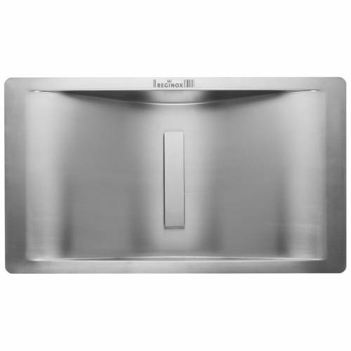 Regi-Color Wave Single Bowl Kitchen Sink - Stainless Steel
