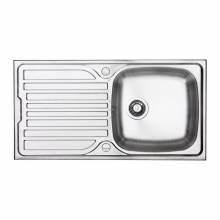 Turin 100 1.0 Bowl Sink and Drainer