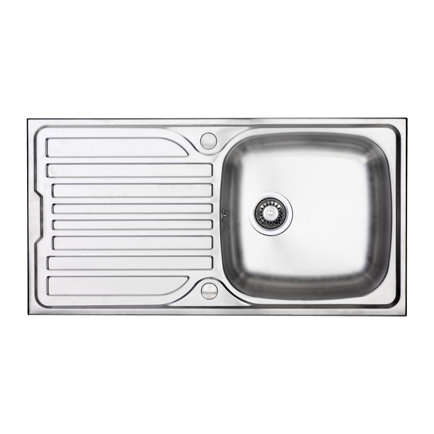 Bluci Turin 100 1 0 Bowl Sink And Drainer Sinks Taps Com