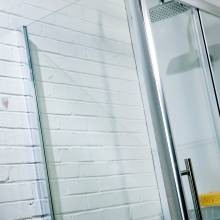 Aquabro Sliding Door Shower Enclosure Side Panel