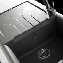 Reginox Ego 400 Black Granite Kitchen Sink