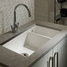 Abode Matrix Ceramic Kitchen Sink