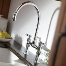 Abode Bromptom Two Hole Kitchen Tap