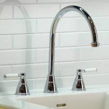 Abode Astbury Three Tap Hole Mixer Kitchen Tap