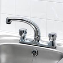 Bluci Gravina Duo Water Saving Contract Kitchen Tap