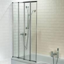 Aquabro Four Fold Bath Screen