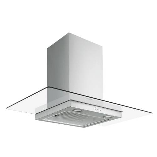 Caple FGC CLASSIC Stainless Steel & Glass Wall Chimney Hood