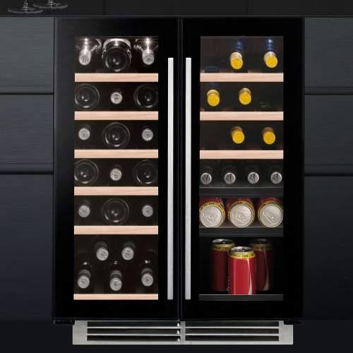 Caple Wi6233 SENSE Undercounter Dual Zone Wine Cabinet