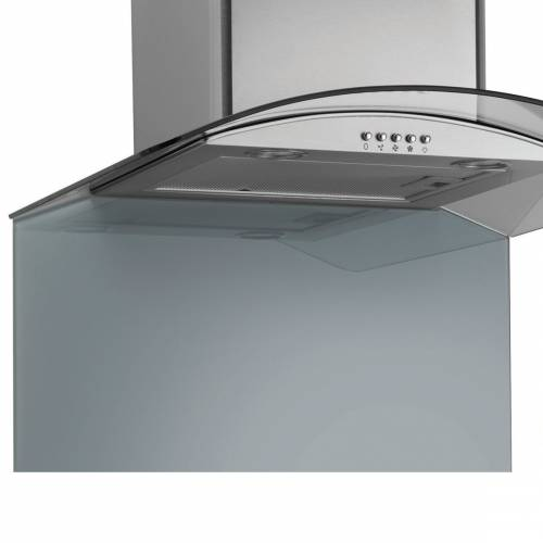 Caple 60cm Glass Full-Height Curved Splashback