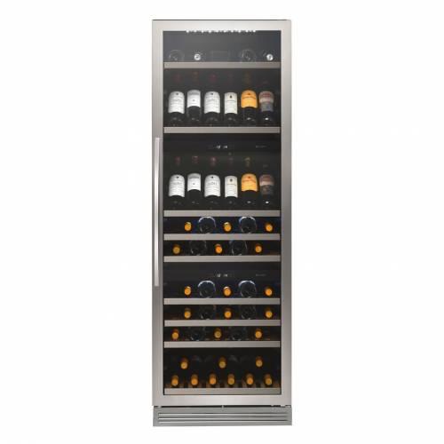 Caple WF1548 Freestanding Triple Zone Wine Cabinet