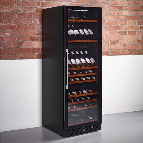 Caple WF1547 Freestanding Three Zone Wine Cabinet