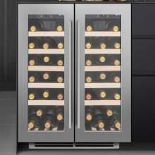 Caple Wi6230 Undercounter Dual Zone Wine Cabinet