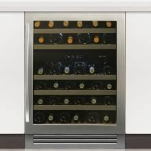 Caple WI6131 Undercounter Dual Zone Wine Cabinet